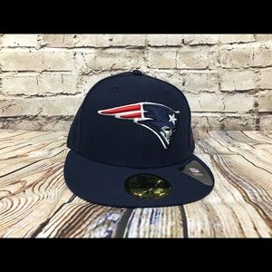 New Era New England Patriots fitted hat size 7 1/8